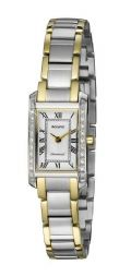 Ladies Accurist LB1589RN Pure Precision Diamond Set Bi-Colour Watch